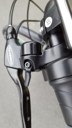 Smortmotion ECity Brake levers with integrated bell