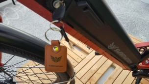 How's that leather key fob?