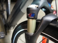Specialized have a custom fork made by SR Suntour