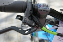 Magura brakes with arrestors, Alivio shifters work well